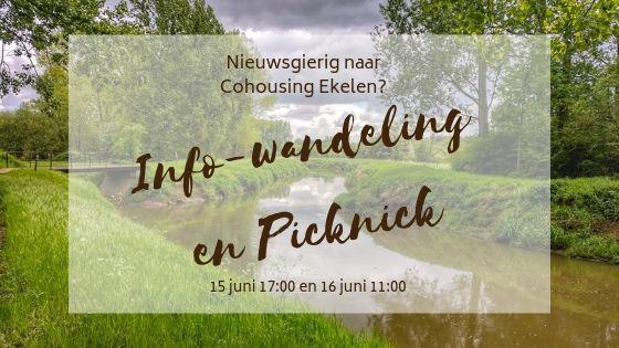 Info-moment met wandeling en picknick