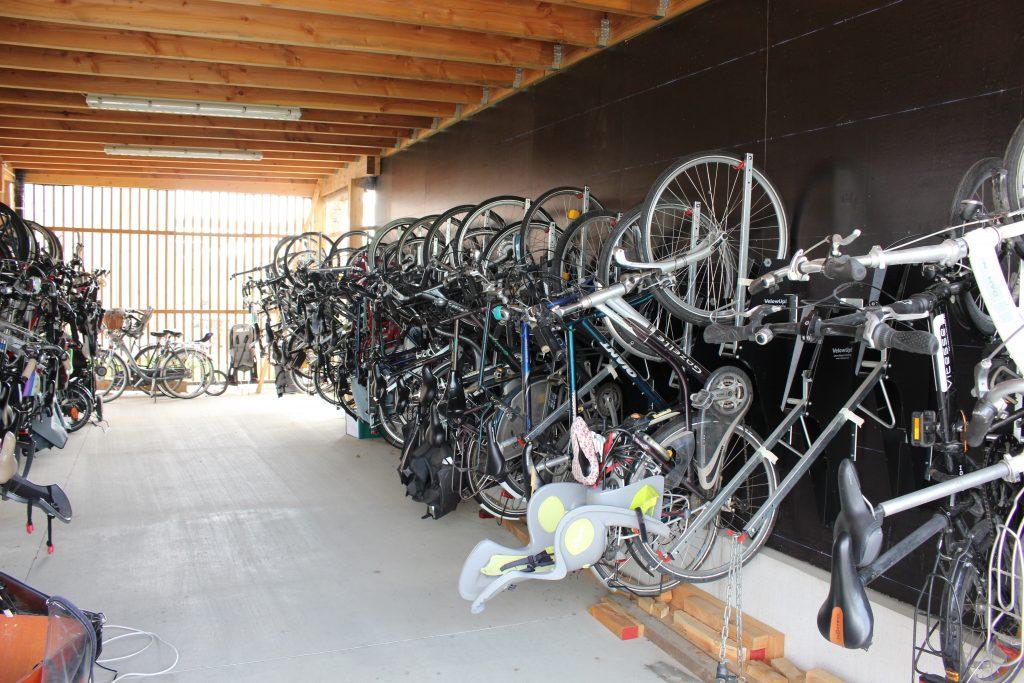 VelowUp! in de fietsenstalling van cohousing Waasland