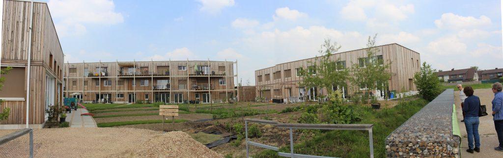 Panoramisch beeld Cohousing Waasland
