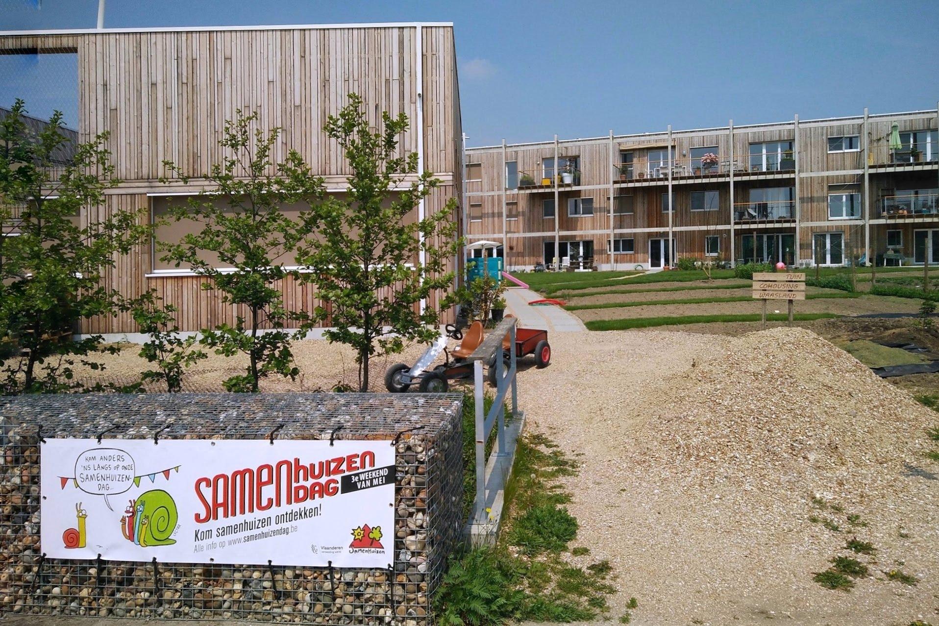 Samenhuizendag 2019 bij Cohousing Waasland