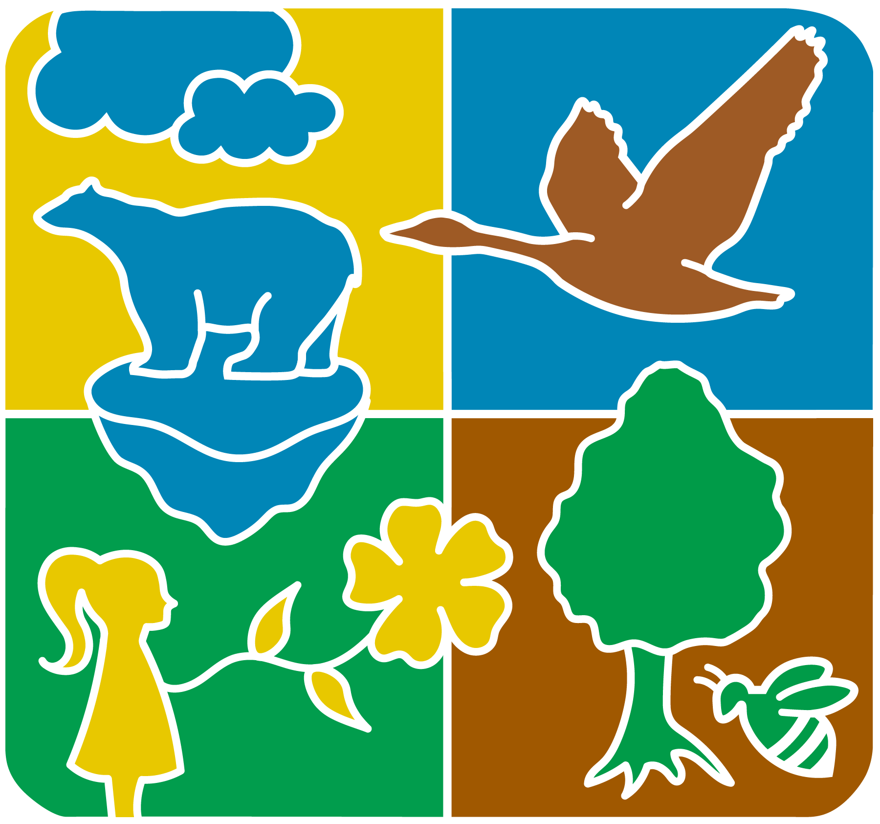 logo Internationale Dag Biodiversiteit - tekstloos